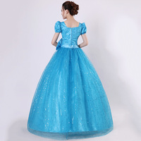 Blue Quinceanera Dresses Tulle Withh Gold Appliques Lace Sweet 16 Dresses Ball Gowns Vestidos De 15 Anos Debutante