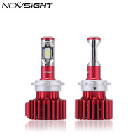 NOVSIGHT D1 D2 D3 D4 S R Car LED Headlight Bulbs 60W 10000LM Set Single Beam