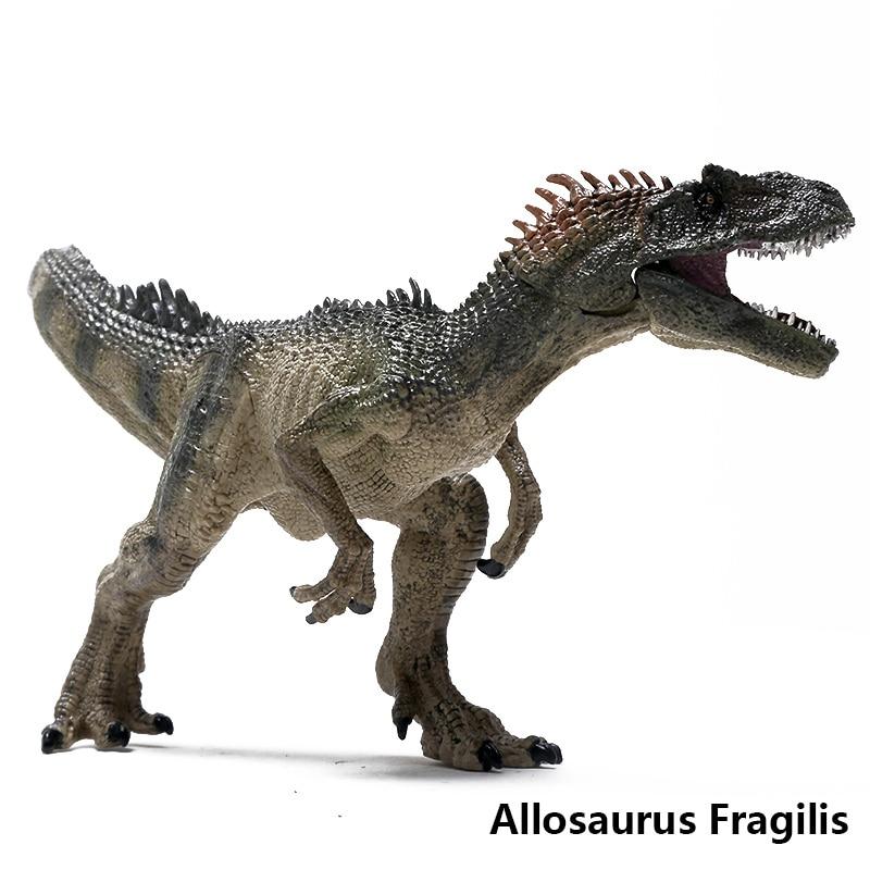 Jurassic Allosaurus Fragilis Dinosaur Toys Animal Model ...