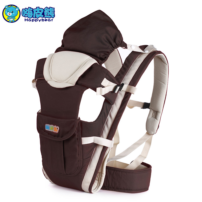 Happy Bear Hold baby Backpacks Carriers shoulders dual-use baby sling cotton breathable baby supplies newborn baby stool детское автокресло happy baby skyler blue
