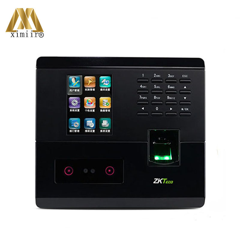 Biometric Face Time Attendance UF200 Face + Fingerprint Time Recorder And Access Control TCP/IP Facial Time Clock