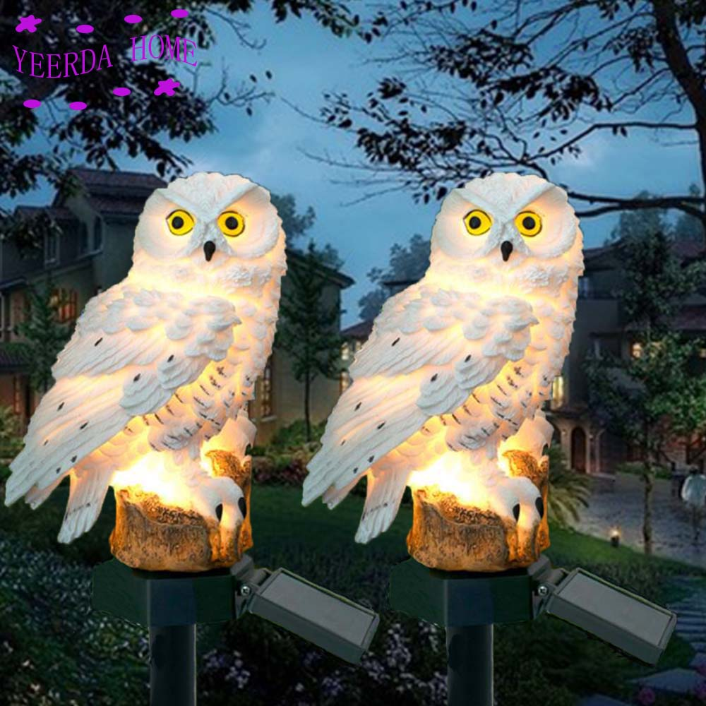 Confident Owl-shaped Led Solar Garden Light Lawn Light Decoration Garden Lamp For Yard Pathway Patio Tuinverlichting Decoracion Jardin Special Summer Sale Led Lawn Lamps