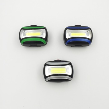 COB Headlamp Glare Headlight Led Flashlight For Night Riding Outdoor Plastic Work Light Lanterna Head Led Mining Headlamp