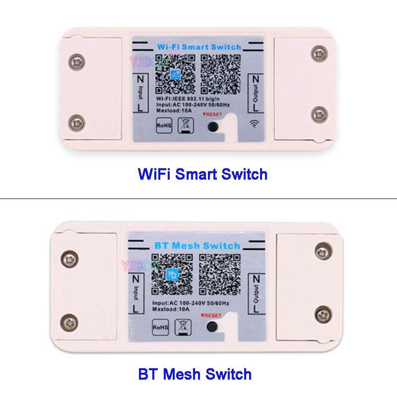 Magic Home Smart Bluetooth Wifi Switch Controller Ac 110v