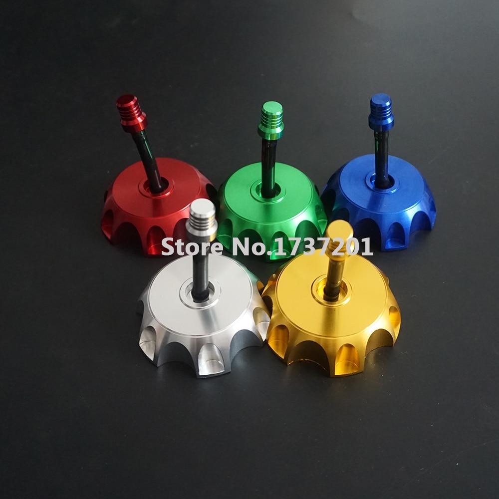 Free shipping billet cnc gas fuel tank cap for kayo apollo bosuer xmotos klx110 ttr110 crf