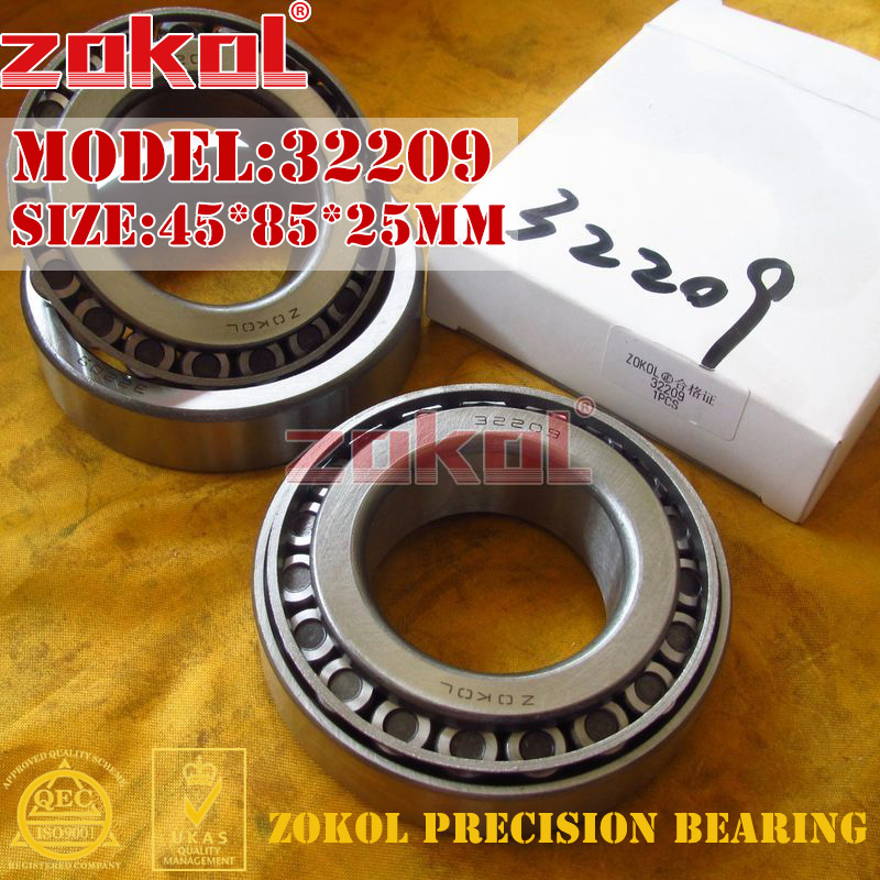 ZOKOL bearing 32209 7509E Tapered Roller Bearing 45*85*25mm na4910 heavy duty needle roller bearing entity needle bearing with inner ring 4524910 size 50 72 22