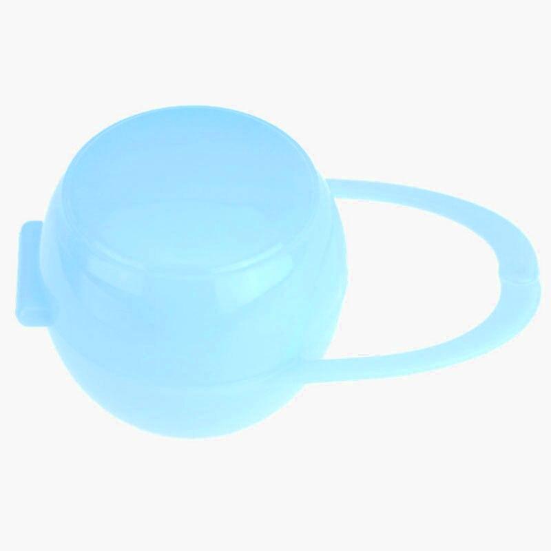 Детские Соска для младенцев держатель кольцо для соски коробка чехол для путешествий Подарок - Цвет: blue