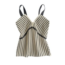 2019 New Fashion Crop Tops V Neck Striped Summer For Women Sexy Slim Sleeveless Tank Womens Clothing Camisole