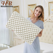 HazyBeauty Import Natural Latex 58x38x11/13cm Cervical Vertebrae Health Care Orthopedic Massage Natural Latex Pillow