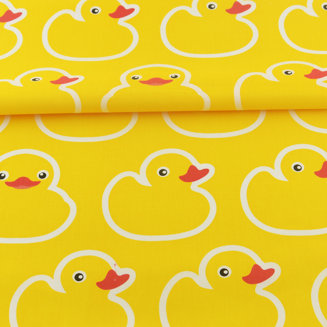 New Arrivals Quilting Patchwork Yellow 100 Cotton Fabric Sewing