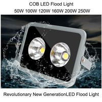 COB Led Flood Light 50W 100W 120W 160W 200W 250W IP67 LED Outdoor Lighting Garden Shed
