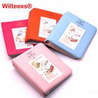 WILTEEXS 64 Taschen Fujifilm Instax Mini Filme Instax Mini 8 7 s 70 25 50 s 90 Name Karte Stück Der Moment Fotobuch Album