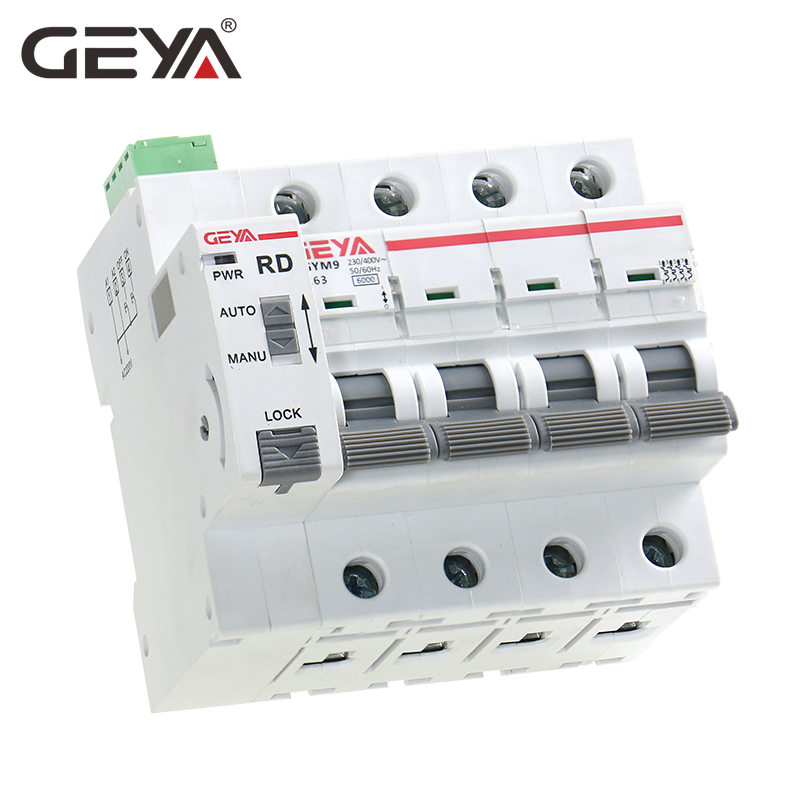 GEYA Din Rail GYM9 4P MCB with Autoreclose Device Automatic Reset Circuit Breaker Smart Home MCB Auto RecloserGEYA Din Rail GYM9 4P MCB with Autoreclose Device Automatic Reset Circuit Breaker Smart Home MCB Auto Recloser