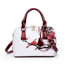 Elegant Floral Women's Shoulder Bag