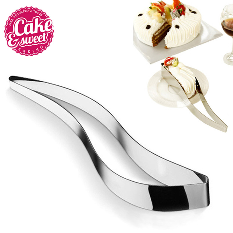 cake slicer server roestvrij staal cake cutters cookie fondant dessert tools taart snijder mes cutter schimmel diy brood cake cutter