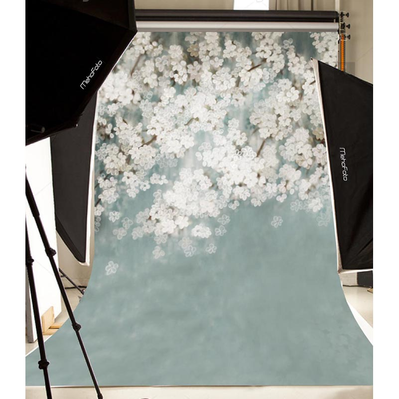 Vinyl Photography Backdrop Digital Printing Background Newborn Floral Backgrounds for Photo Studio S-102