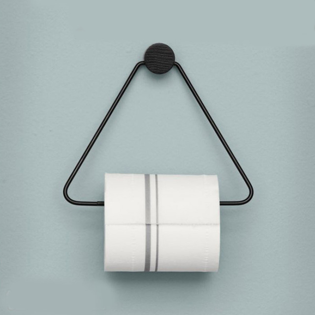 Modern Denmark Design triangle toilet paper holder Napkin Holder