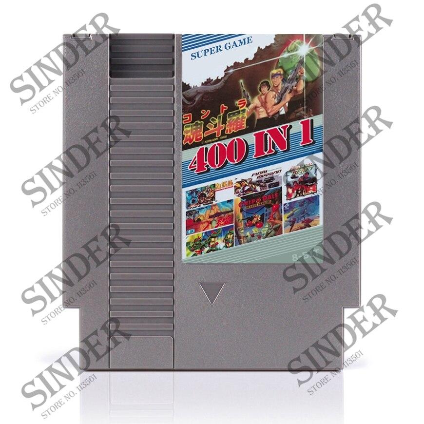 400 In 1 72 pin 8 bit Game for NES with game Contra 7 NINJA GAIDEM DOUBLE DRAGON NINJA TURTLES 3 90 TANK SNOW BROS alien 3