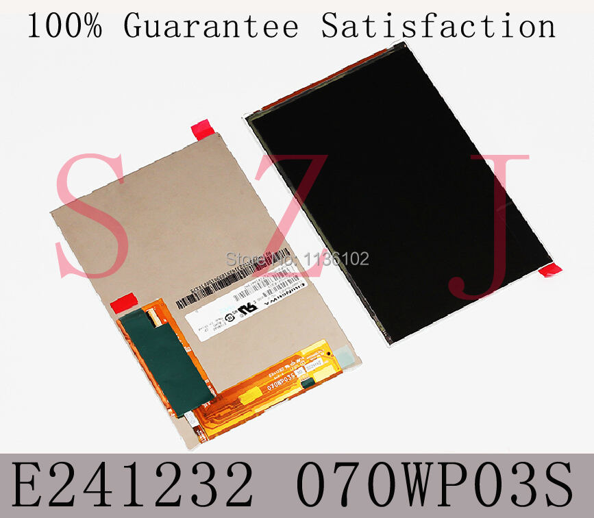 7 inch 070WP03S HV070WX2-1E0 HV070WX2 E241232 LCD display screen panel for ASUS google Nexus 7 Tablet PC MID 10Pcs/lot