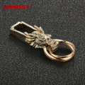 Brands HONEST alloy Dragon men keychain bag pendant totem boutique car key chain ring holder Jewelry charm bcys-008