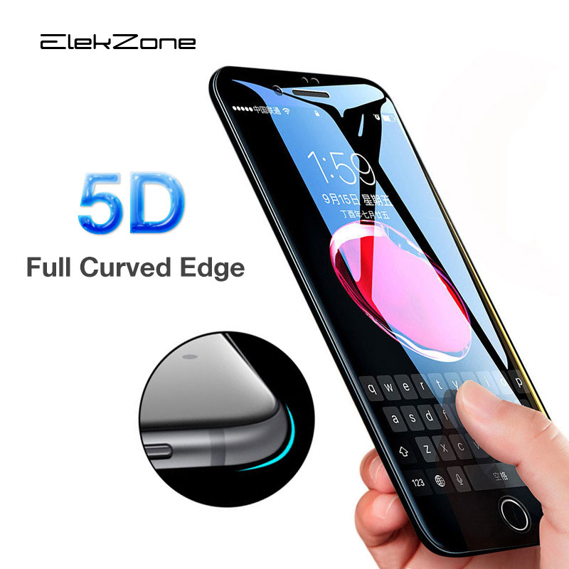 5D Best Tempered Glas For IPhone XR X XS MAX 6 7 8Plus Screen Protective Film For IPhone 8 6s 7 X Xs Xr Max Screen Protector