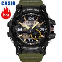 Часы Casio G SHOCK Мужские кварцевые спортивные часы мутный король тройная индукционная солнечная волна g shock часы GG 1000