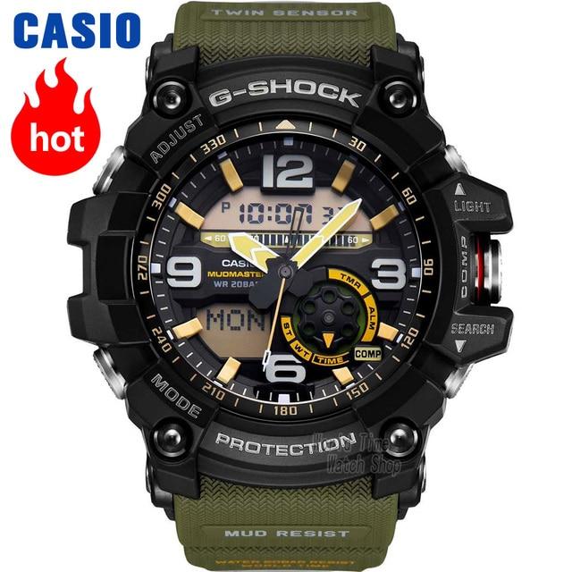 be25af3c2284 Casio watch G-SHOCK Men s quartz sports watch mud king triple induction  solar energy Radio wave g shock Watch GG-1000