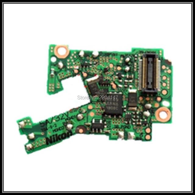 ! Pequena placa de potência para nikon d90; micro driver board para d90; peças de reparo da câmara