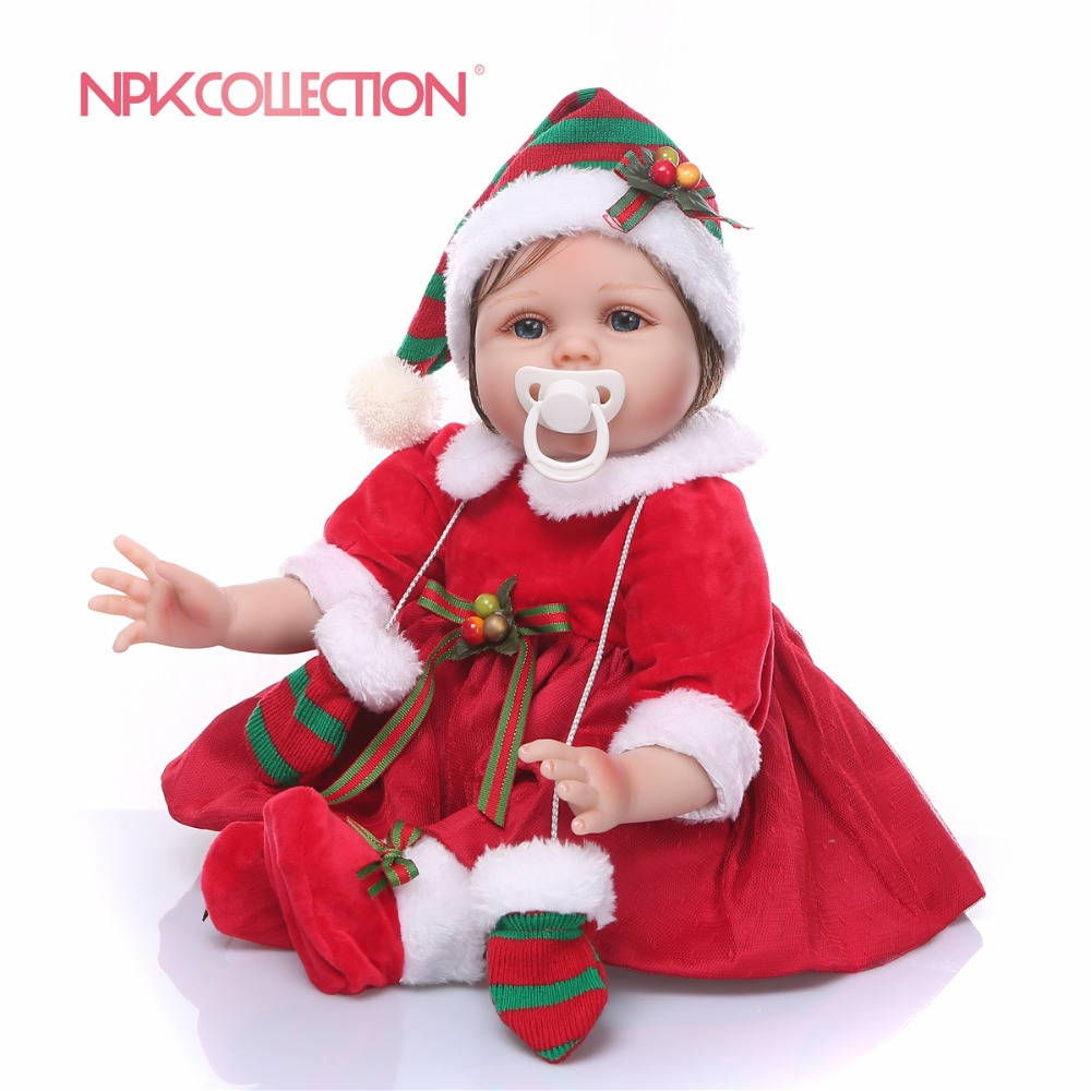 23inch full Silicone Reborn Baby Doll Kids Playmate Christmas presents Alive bathe white skin vivid  Doll bebe infant Toys doll23inch full Silicone Reborn Baby Doll Kids Playmate Christmas presents Alive bathe white skin vivid  Doll bebe infant Toys doll