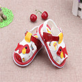 2016 Fashion New Arrival Summer Cool Baby Sandals Unixes Shoes Skidproof Toddlers Infant Children Kids PU Shoes For 0-1 Years