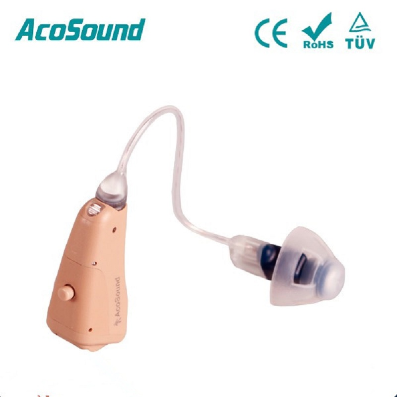 AcoSound 821RIC Digital Hearing Aids Programmable Hearing Aid RIC Ear Aid 8Channels Hearing Amplifers Ear Care Tools