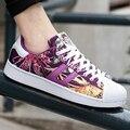 Los hombres Zapatos Casuales de Primavera y Verano Transpirable Lace Up Sport Unisex Superstar Zapatos Entrenadores Zapatos Hombre Canasta Femme Amantes Plana