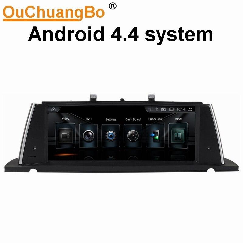Ouchuangbo Аудио Автомобильные gps Радио стерео Мультимедиа для серии F07 GT 2011 2017 поддержка BT USB оригинальный CIC НБТ