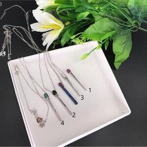 Image 4 - Хит 2020 новинка ожерелье от итальянского дизайнера Брендовая подвеска спички из 925 пробы серебра для женщин и девушек