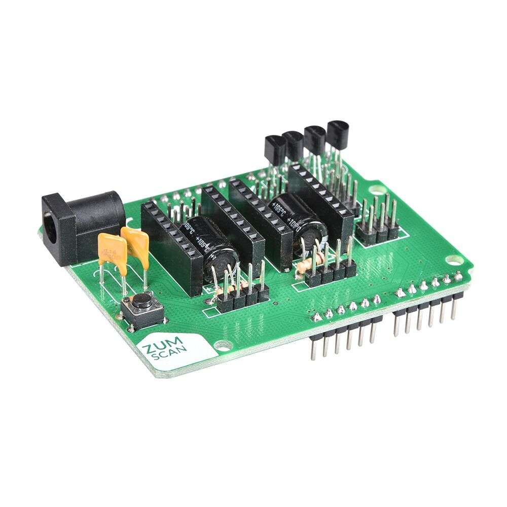 3D Scanner Board Ciclop Expansion Board ZUM Driver Board DIY With A4988 Uno Controller Accessories For 3D Printer