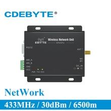 E70 DTU 433NW30 Ster Netwerk RS232 RS485 Lange Range 433 MHz 1W IoT uhf Draadloze Transceiver rf Module 433 MHz Data zender