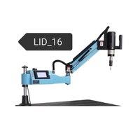 LID-16BK Yüksek Kaliteli Elektrikli Dokunarak Makinesi Profesyonel Elektrikli Tapper Musluklar diş açma makinesi M3-M16 0-312r/dak 220 V 600 W