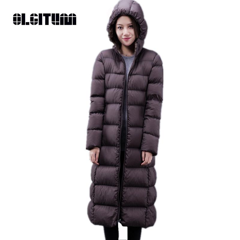 OLGITUM 2017 New Spring Parka Jacket Women Winter Coat Womens Medium-Long Cotton Padded Warm Jacket High Quality Hot Sale CC359 5pcs 617 one spiral flute bit cnc router bits 6mm 17mm high quality solid carbide end milling free shipping