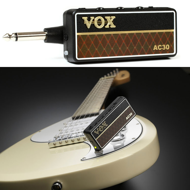 vox amplug 2 ac30 mini headphone amplifier electric guitar headphone amp accessories free. Black Bedroom Furniture Sets. Home Design Ideas