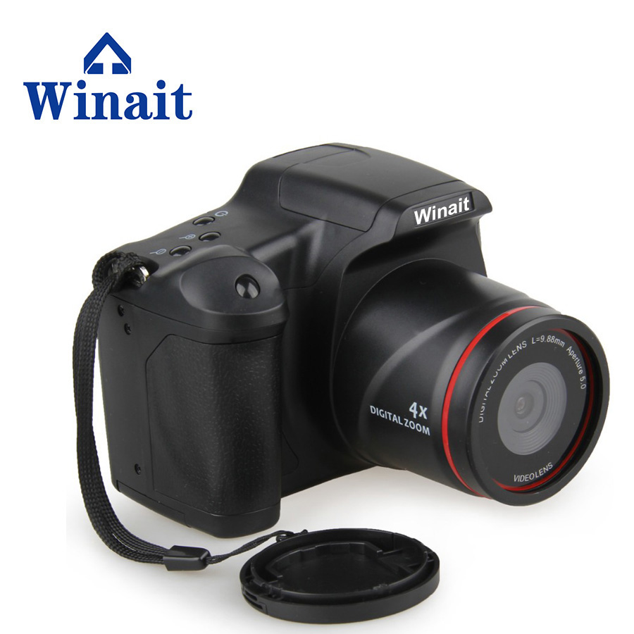 Winait HD 720P Digital Camera DSLR H.264 Video Format 0.3M CMOS Cheap Price Digital Camera SD Card Max To 32GB image