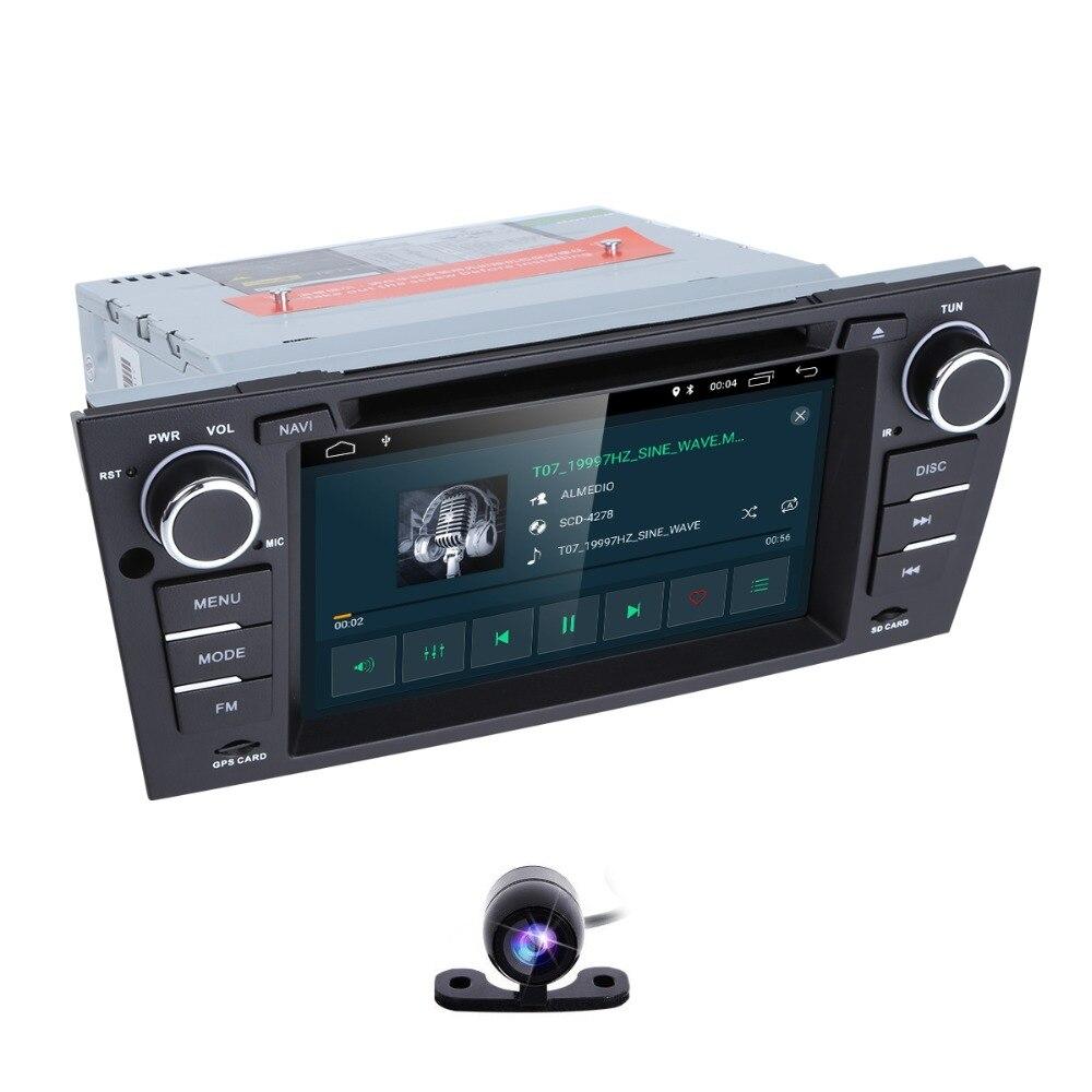 2019 4G Wifi 7 Pouces 2G RAM lecteur DVD de Voiture Pour BMW E90 E91 E92 E93 2006 2007 2008 2009 2010 2011 2012 Caméra DAB + OBD2 TPMS DVR