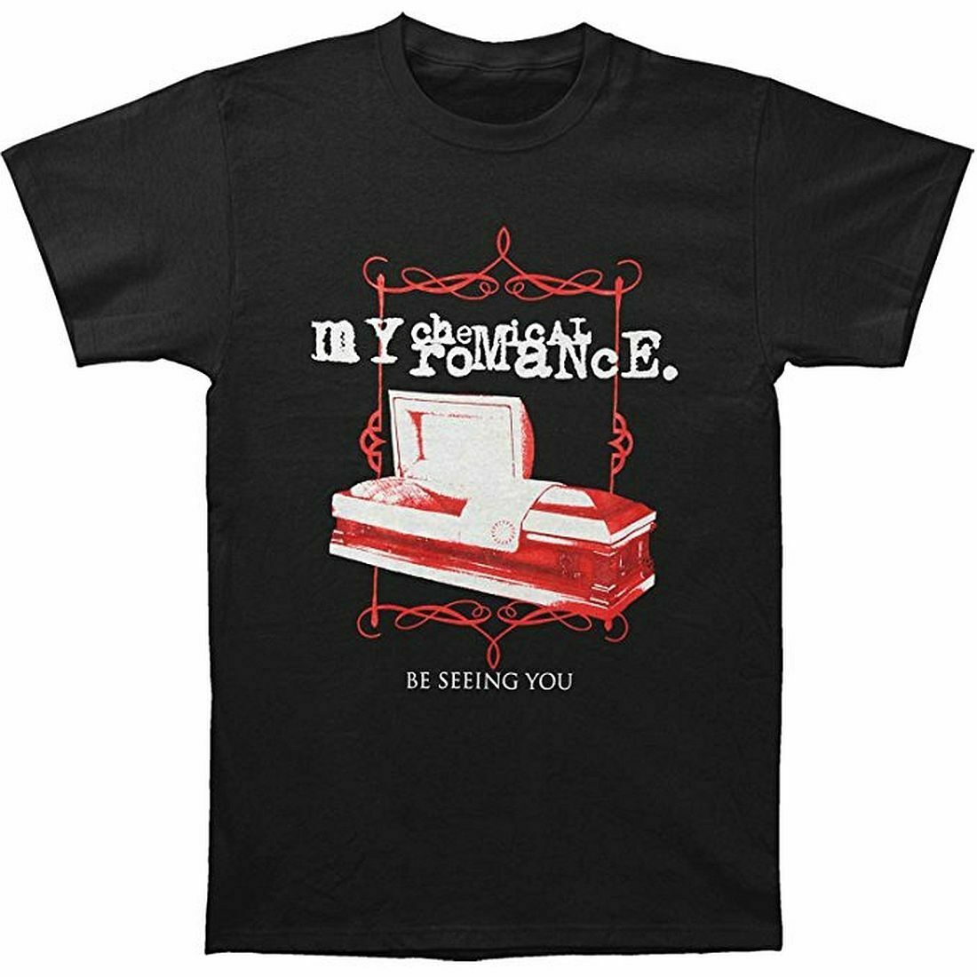 My Chemical Romance Coffin T-Shirt All Sizes New New Brand-Clothing T Shirts Top Tee