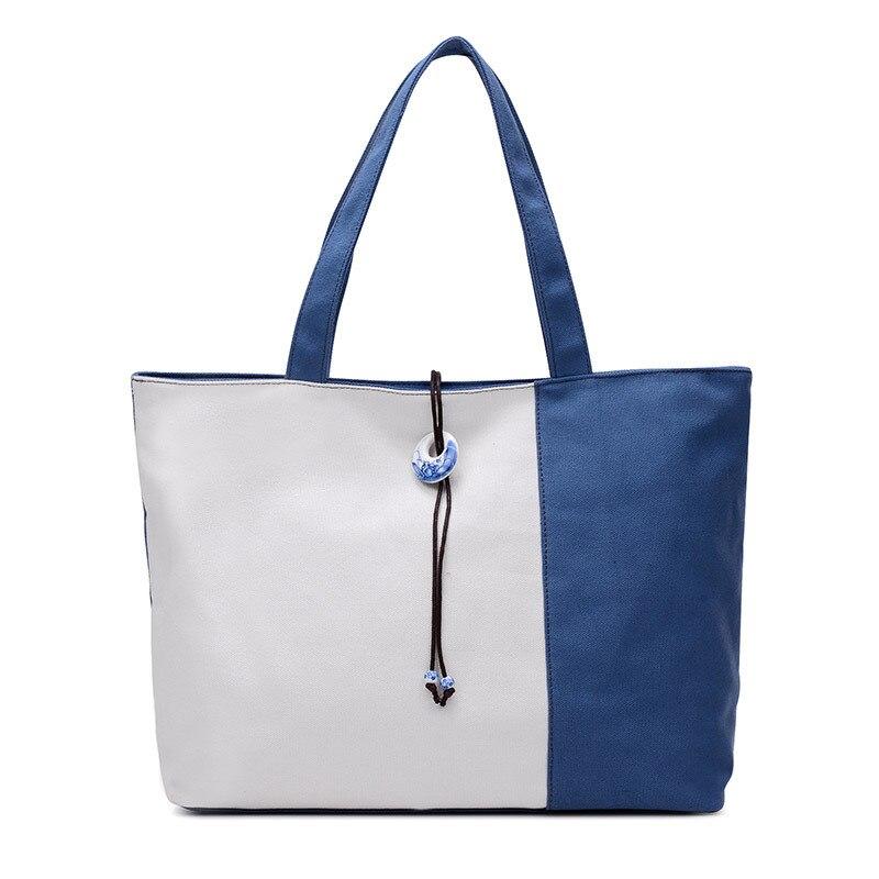 Women Shoulder Bag Vintage Leisure Canvas Handbags Bucket Ladies Handbag Casual Big Female Tote Ipad Bolsos Purse XA527D