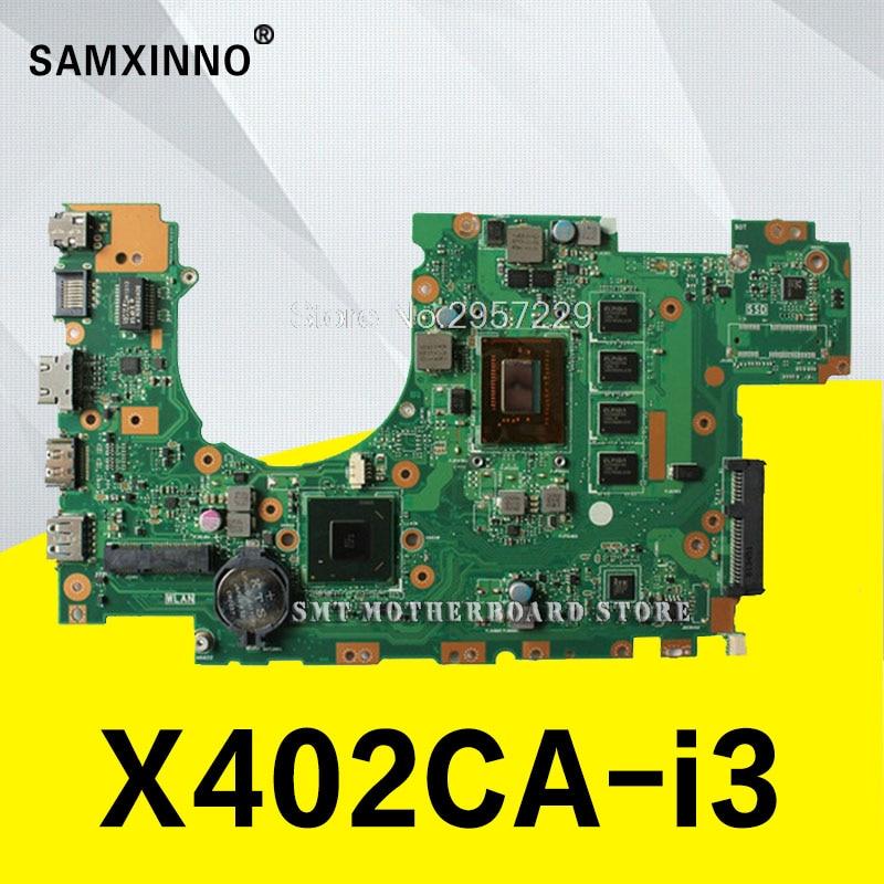 X402CA Motherboard i3-3217U 4 GB RAM REV 2.1 / REV 3.1 for ASUS X502C X402C F402C Motherboard Notebook X402CA board
