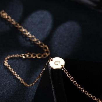 WLP Fashion Gold Color Letter Bracelet & Bangle For Women Silver Adjustable Name Bracelets Jewelry Female Gift Pulseras Mujer 5