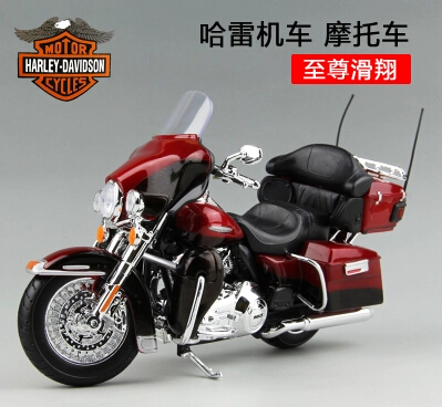 CVO limited Road King ELECTRA GLIDE ULTRA CLASSIC Harley motorcycle 1:12 Maisto simulation model alloy Classic Collection