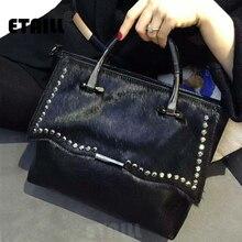 Бриллиантовые стразы из конского волоса роскошные дизайнерские сумки высокого качества известный бренд сумка через плечо для женщин кожаные сумки