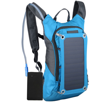 Outdoor Riding Solar Charging Backpack  1