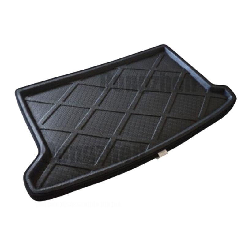 Dongzhen Auto Car Rear Trunk Mat Boot Liner Cargo Floor Mat Tray Sticker Dog Pet <font><b>Cover</b></font> fit for <font><b>Hyundai</b></font> VERNA Solaris Hatch back