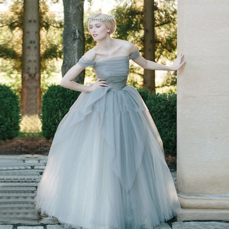 Online Buy Wholesale dusty blue wedding dress from China dusty ...
